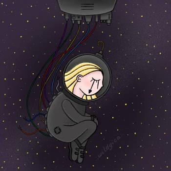 Astronaut by wildgica
