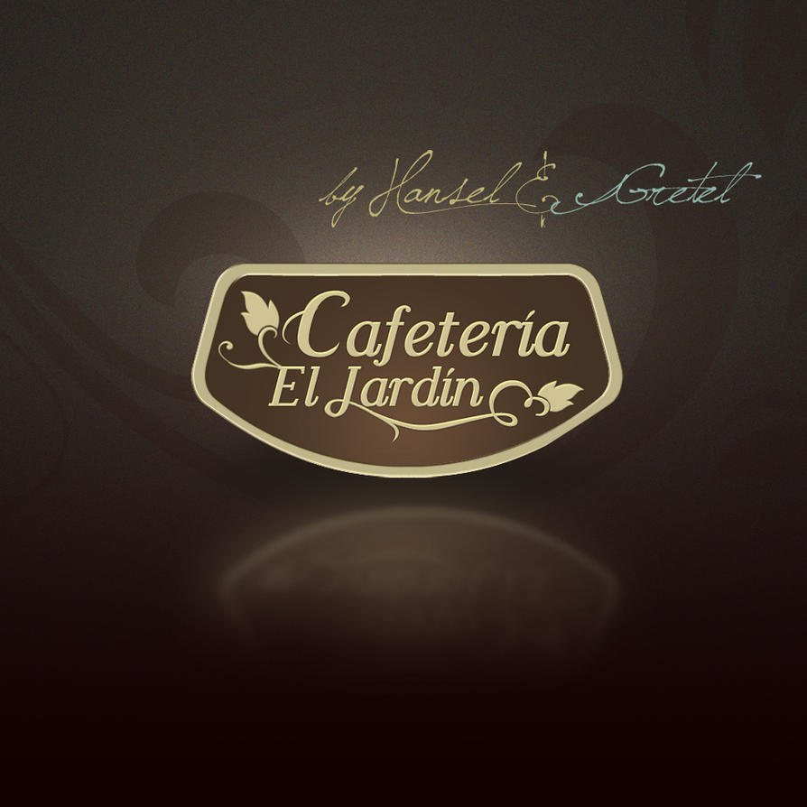 Cafeteria el jardin by dev john on deviantart for Logos de jardines