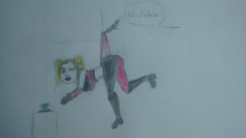 Harley Quinn by atomicwedgiegirl