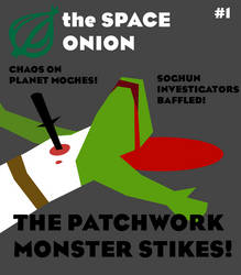 the SPACE ONION Magazine by Emeralddragon2