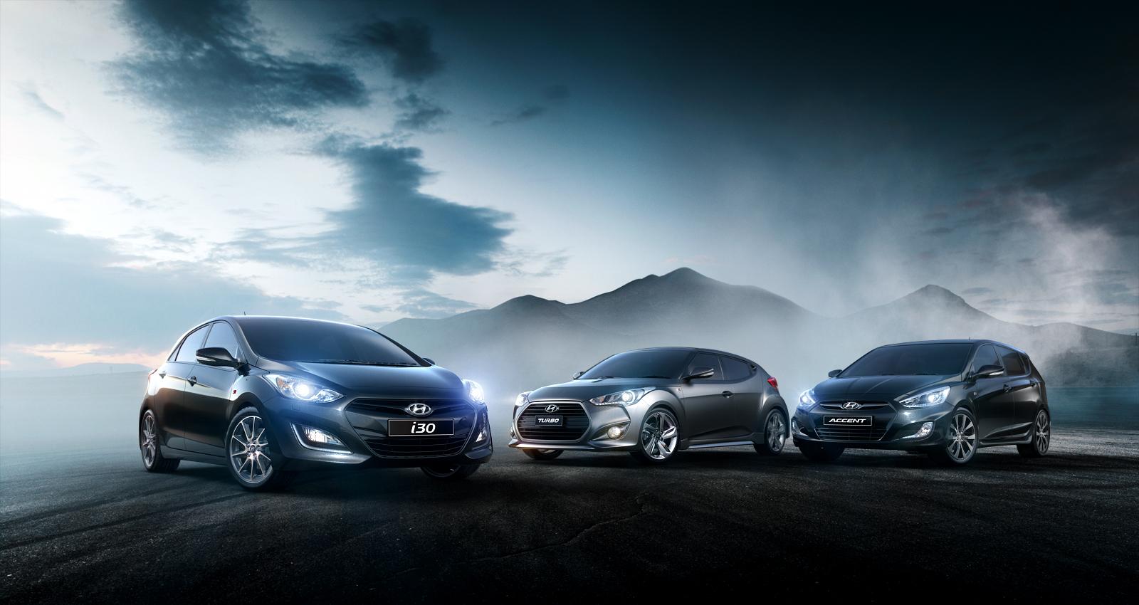 Hyundai SR lineup by subaqua