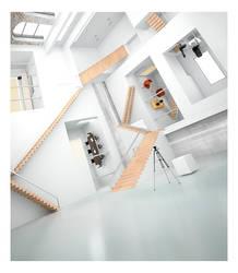 3D Escher building by subaqua