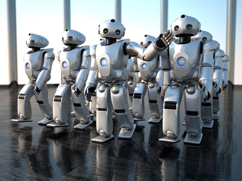 35 Realistic 3d Robots Illustrations