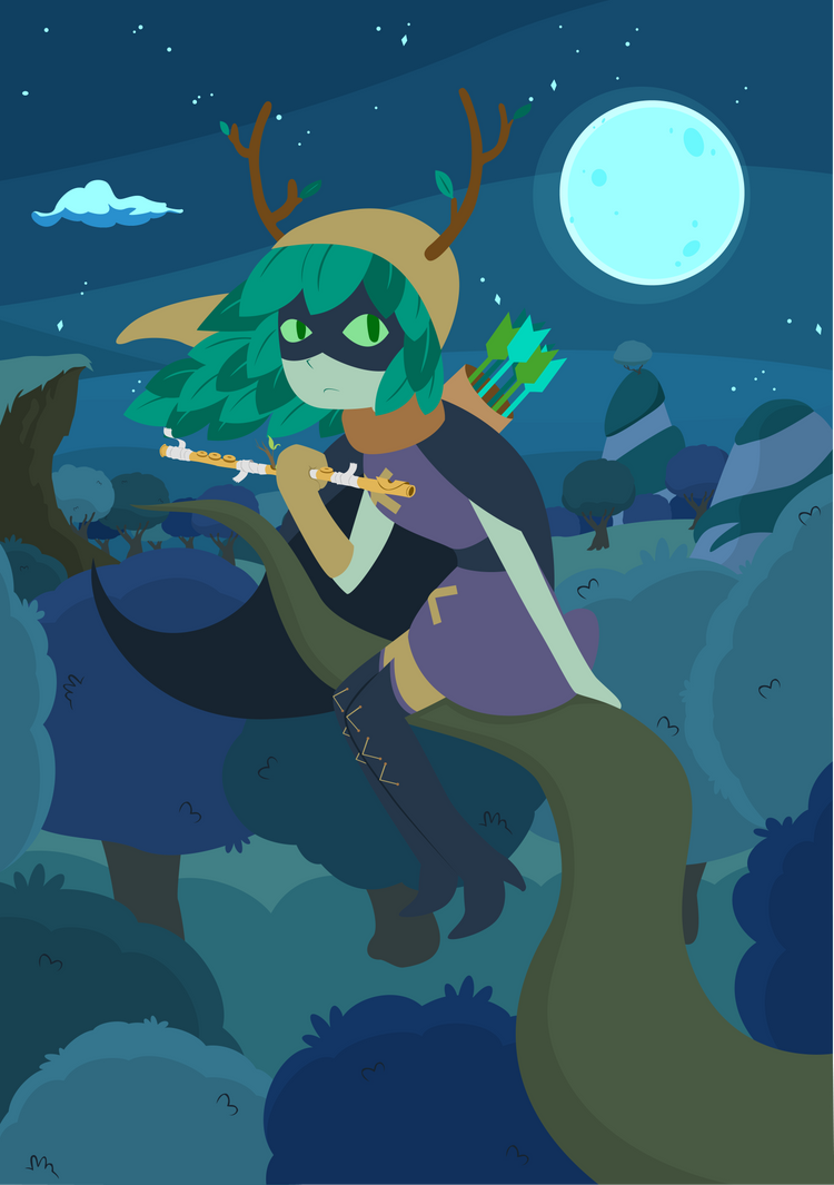 My flute spell was for you the whole time by pimaik