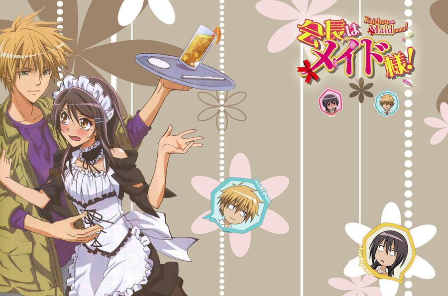 Kaichou wa Maid sama lockscreen PS Vita Wallpaper