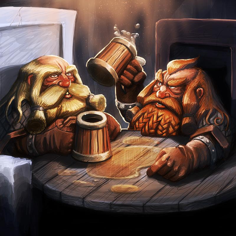 Dwarf negotiation card by Turbopastry