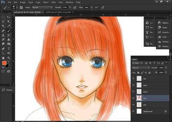 WIP Saffie by paipang