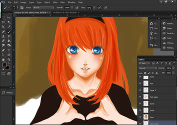 WIP Saffie 2 by paipang
