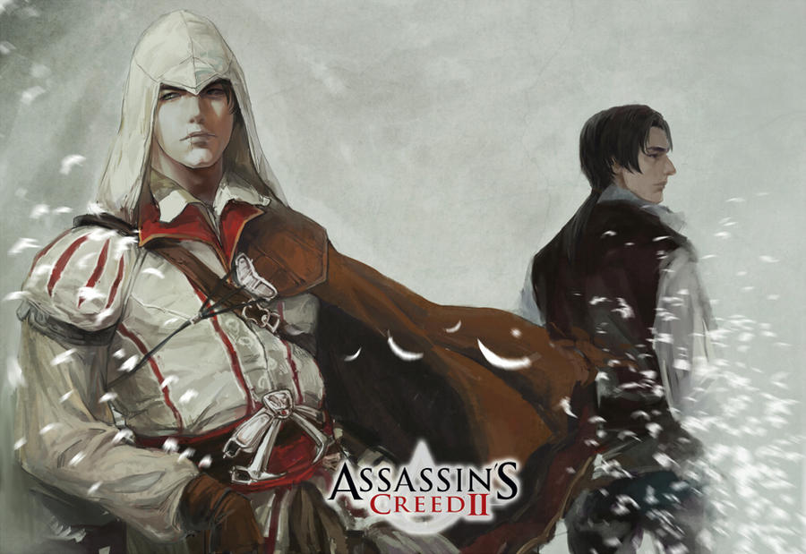 assassin's creed ezio by aprilis420