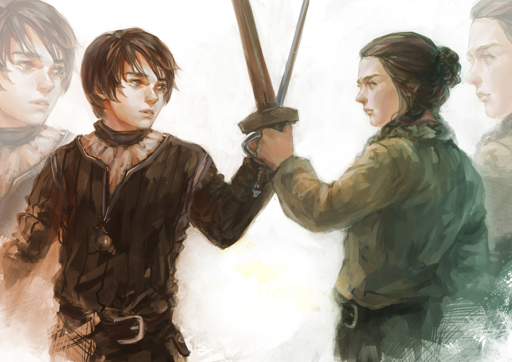 Arya Stark by aprilis420