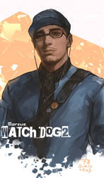 WATCH DOG 2-Marcus  by aprilis420