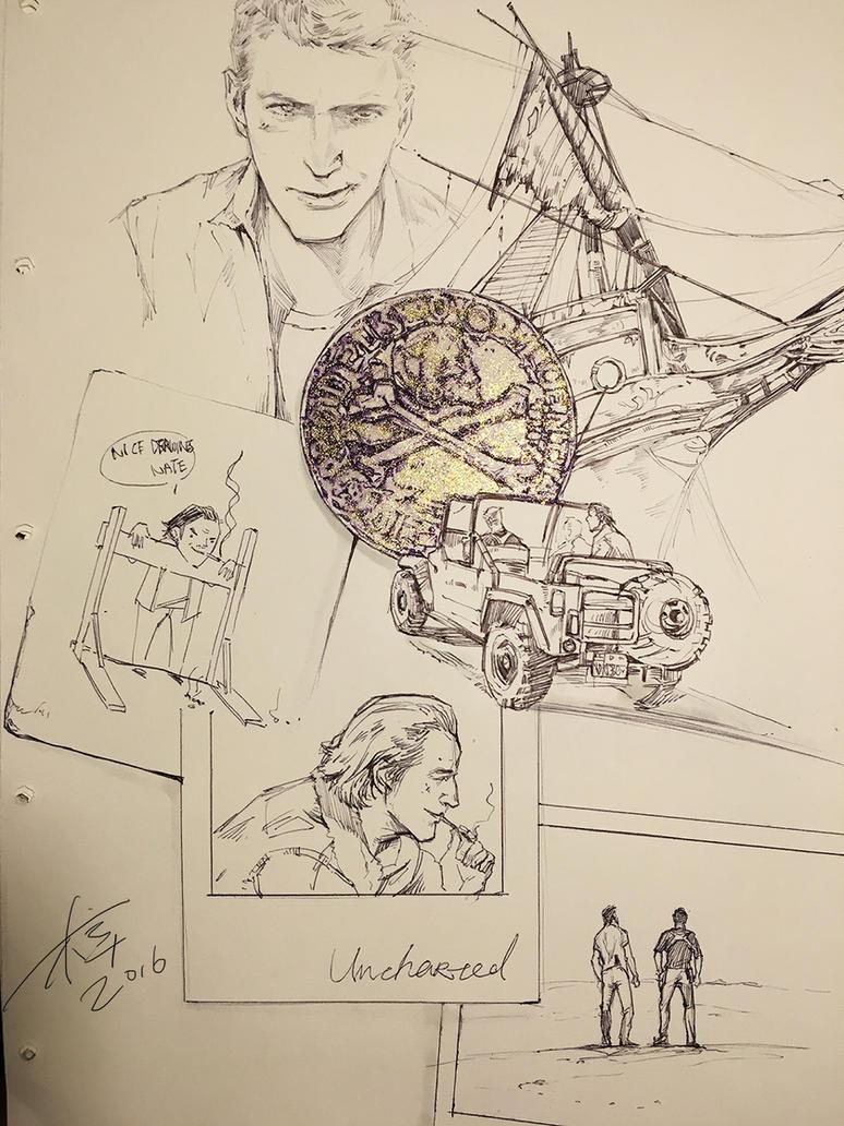 Uncharted4 sketch by aprilis420