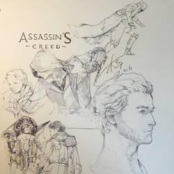 Assassin's Creed-syndicate sketch by aprilis420