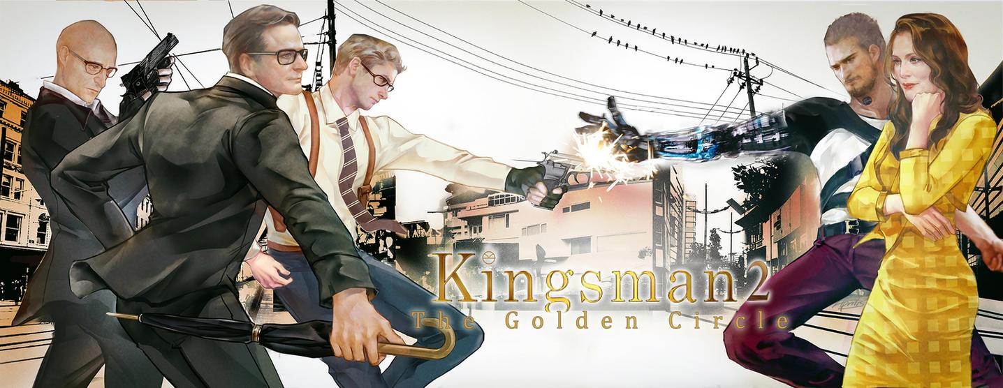 Kingsman2-The Golden Circle by aprilis420