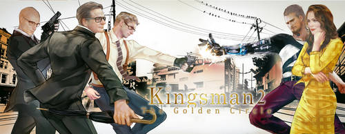 Kingsman2-The Golden Circle by aprilis420