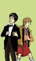 2nd Doctor and Jamie