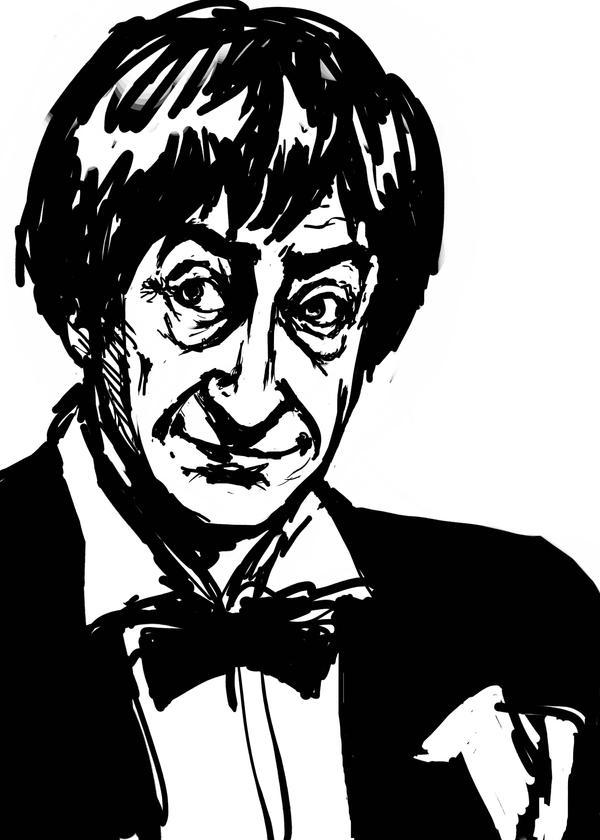 Troughton Sketchiness by AdAbsurdum