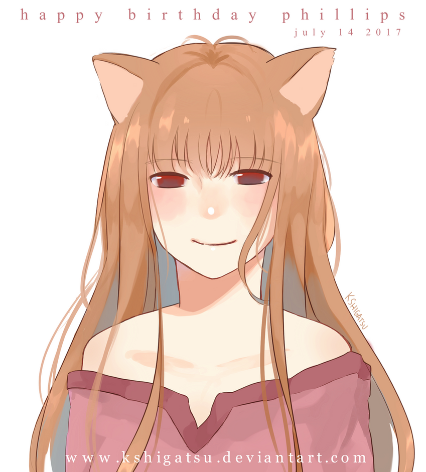 Holo : Spice and Wolf by kshigatsu