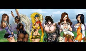 Final fantasy pinups 2 by Padoras-Locket