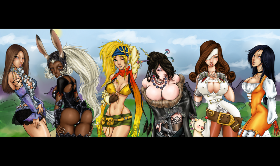 Final fantasy pinups 2 by Padoras-Locket