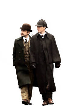 Sherlock Holmes+John Watson // #ShSpesh