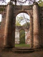 Sheldon Church Ruins 1 by Mourge-stawk