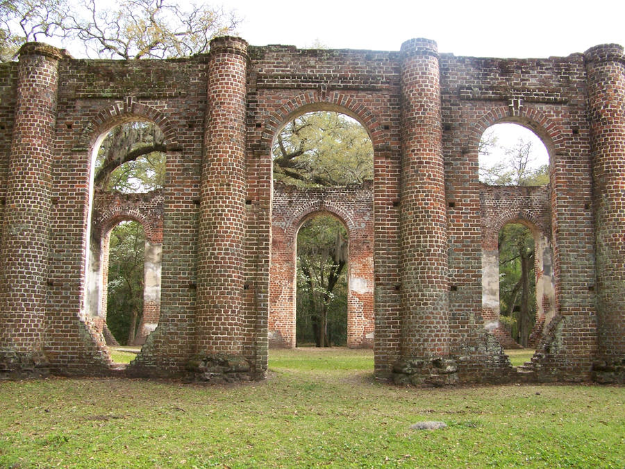 Sheldon Church Ruins 5 by Mourge-stawk