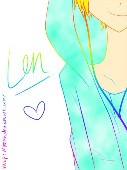 Vocaloid : Len by Leenh