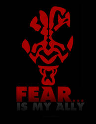 Fear is my ally by JodeciCorrea