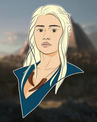 GoT Vector: Daenerys Targaryen
