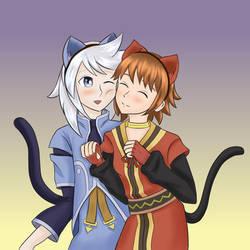 Genis and Rita by KawaiiStorm