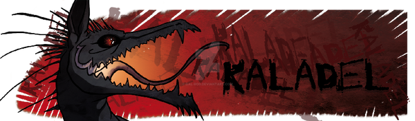 Banner Dragon - Kaladel by Gal-Rod