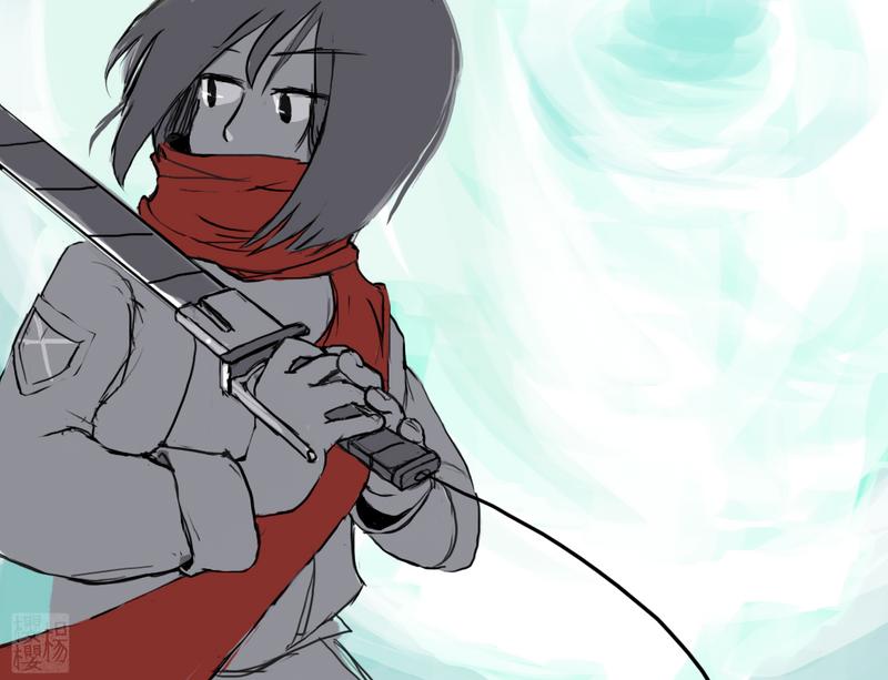 Mikasa by damaojin