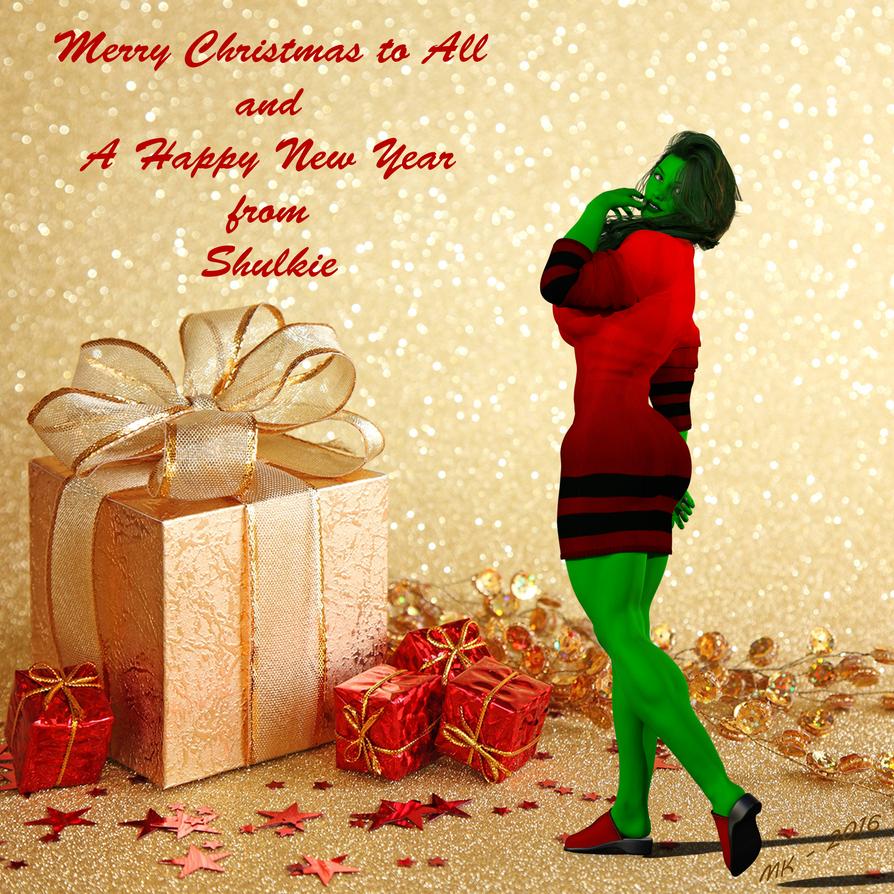 She-Hulk Christmas  New Years 2016