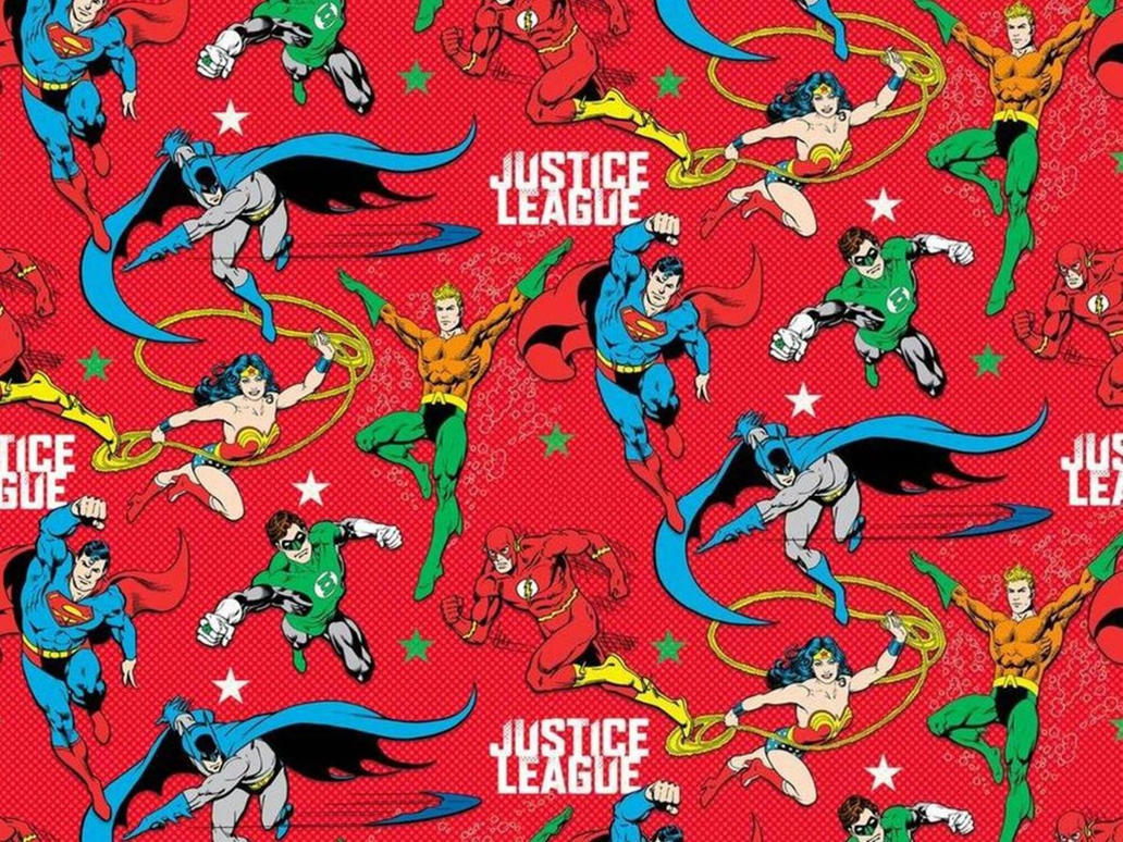 Justice League Christmas Wallpaper by Shulkie on DeviantArt