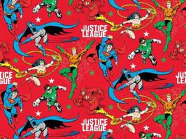 Justice League Christmas Wallpaper