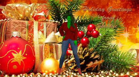 She-Hulk's Christmas Greeting