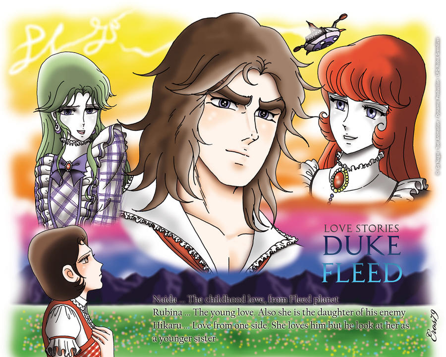 Actarus / Le Prince d'Euphor / Duke Fleed - Page 2 Love_stories_duke_fleed_by_eros79-d4fj0p2