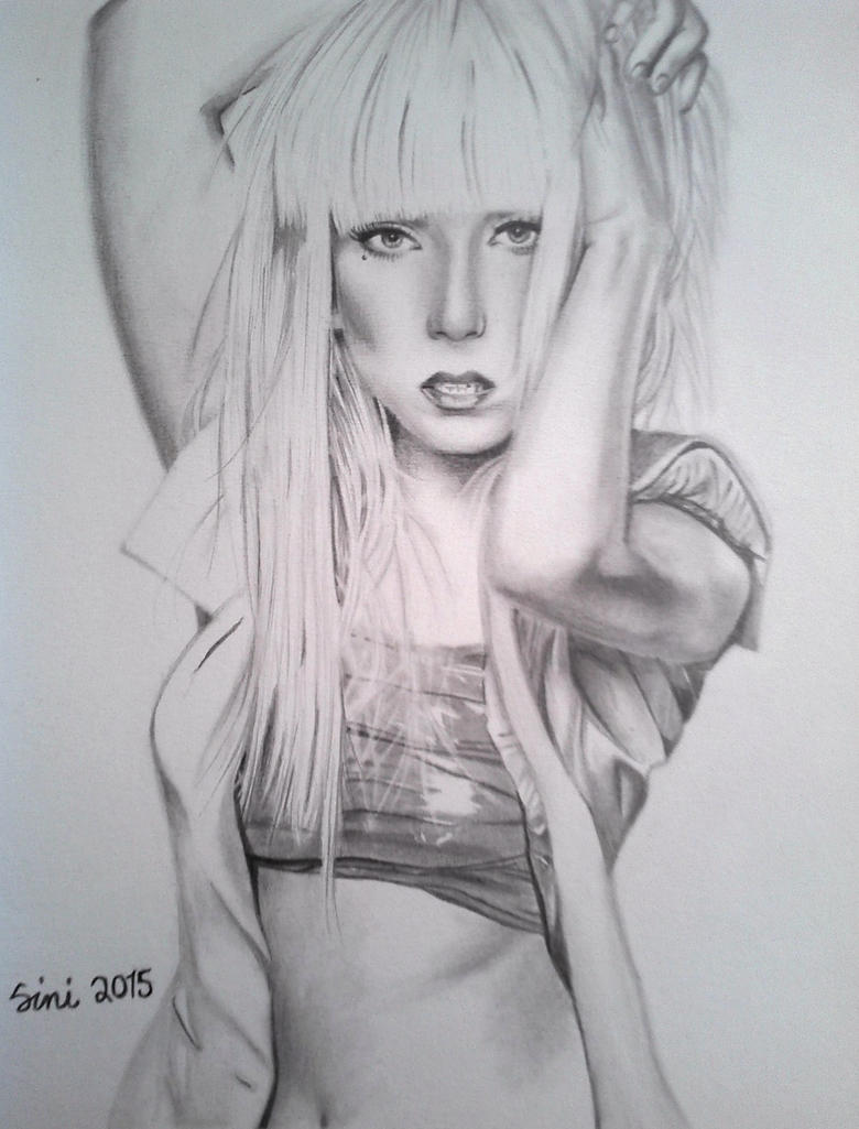 Lady Gaga by mangafriikki