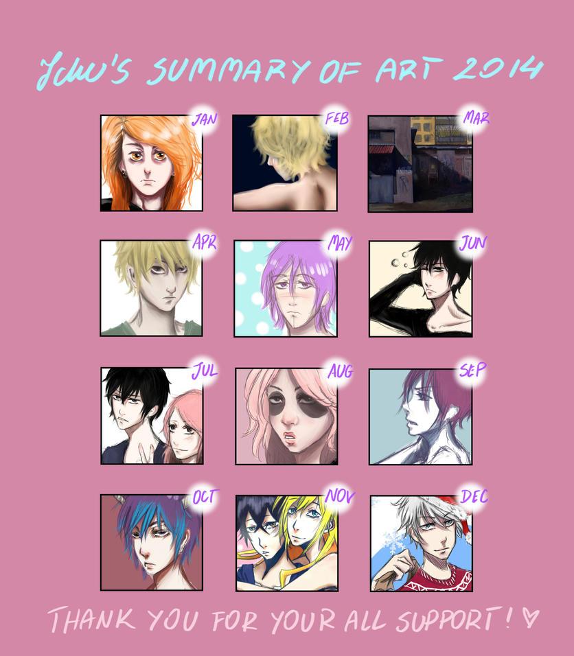 Summary Of Art In 2014 by Ichuuu