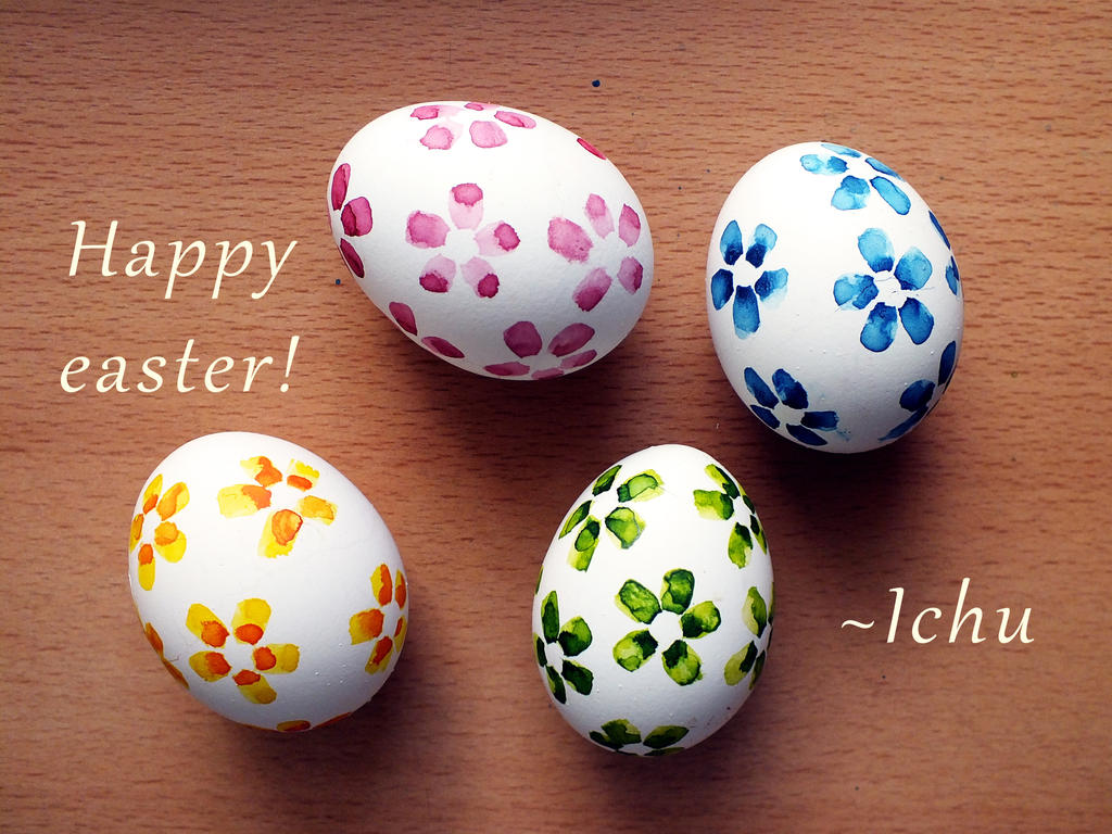 Happy easter! by Ichuuu