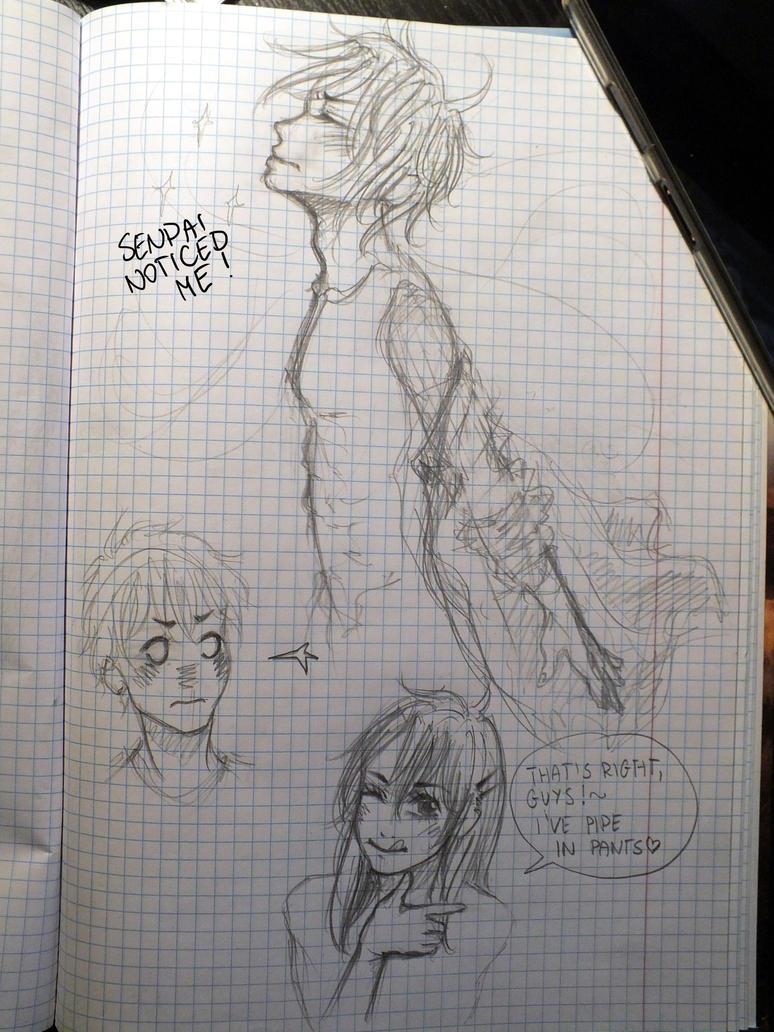 Random doodles by Ichuuu