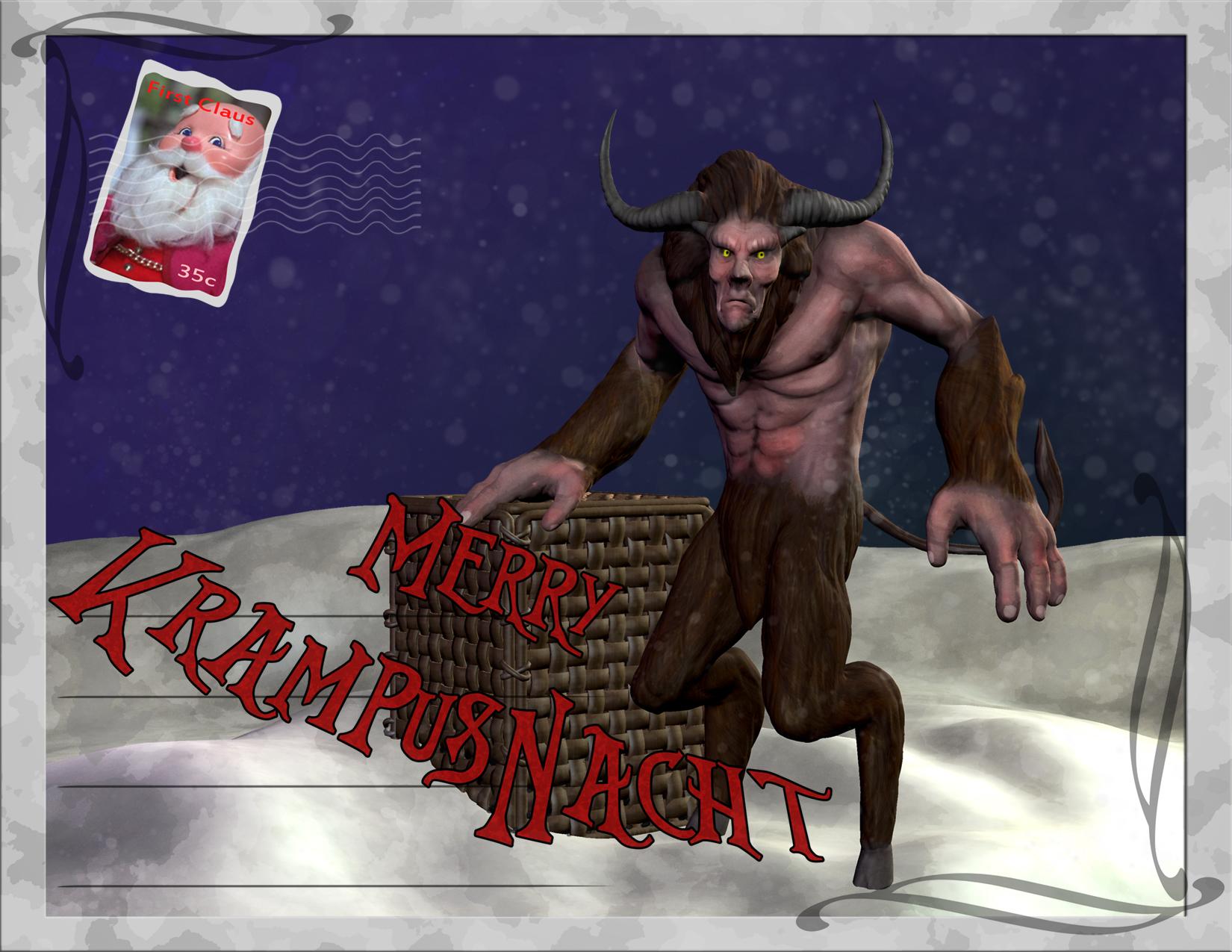 Merry KrampusNacht by Mr-Hades
