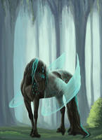 Blue Forest (Kawthar) by Magidaa