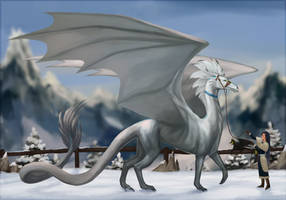 Winter Dragon by Magidaa