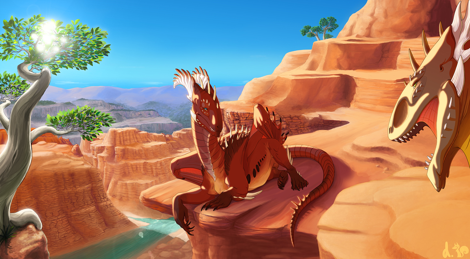 Canyon by dschunai