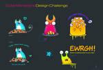 cute monster contest designs