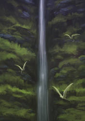 Alorun's Falls by dschunai