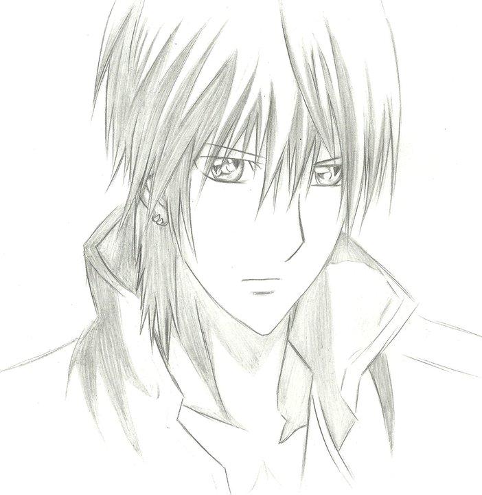 Anime Guy Drawing Zero By Petventh On DeviantArt