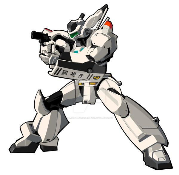 Patlabor Ingram mecha by witchking08
